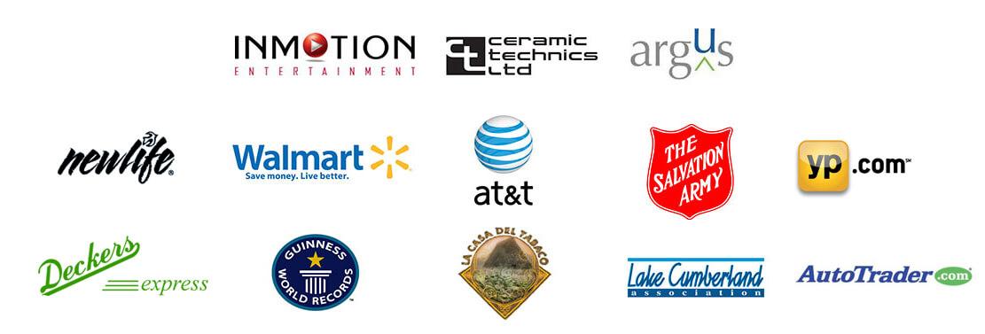 graphic design client list