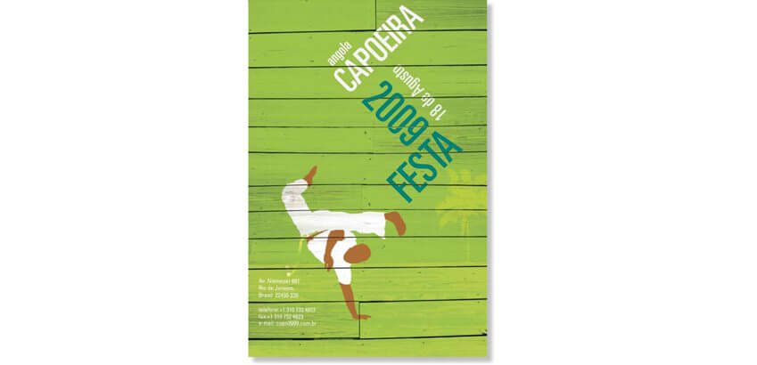capoeira poster