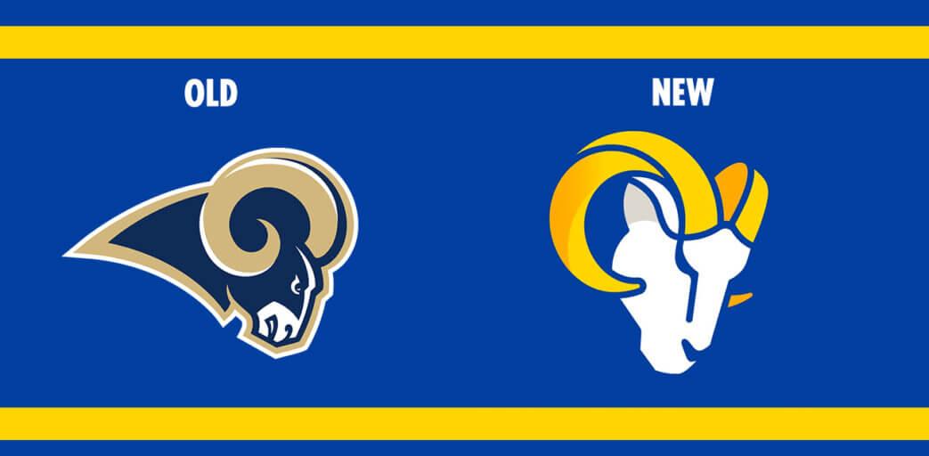 Los Angeles Rams New Logo | Brand Identity Design